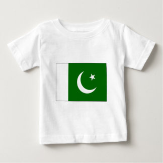 Pakistan Flag2 - PK Love MY Country The MUSEUM Baby T-Shirt