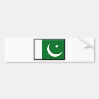 Pakistan Flag Bumper Sticker