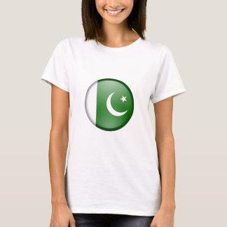 pakistan flag circle T-Shirt