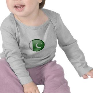 pakistan flag circle t-shirts