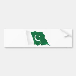 Pakistan-Flag-hd-Wallpaper.jpg Bumper Sticker
