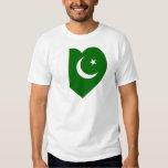 Pakistan Flag Heart Shirt