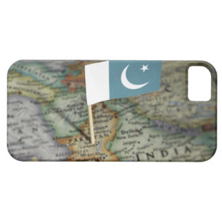 Pakistan flag in map iPhone SE/5/5s case