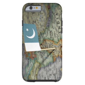 Pakistan flag in map tough iPhone 6 case