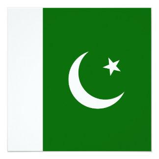 Pakistan Flag Invitation