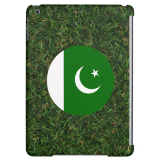 Pakistan Flag on Grass iPad Air Covers