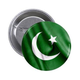 Pakistan Flag Pinback Button