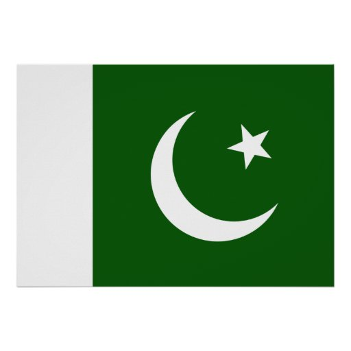 Pakistan Flag Poster