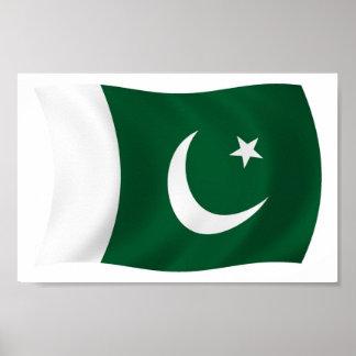 Pakistan Flag Poster Print