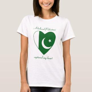 Pakistan Flag Sweetheart T-Shirt