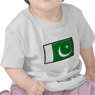 Pakistan Flag Tee Shirts