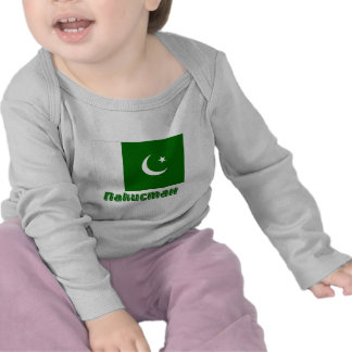 Pakistan Flag with name in Russian Shirt