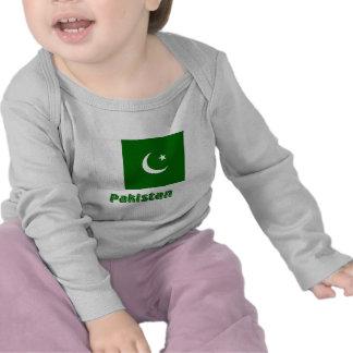 Pakistan Flag with Name T Shirt
