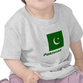 Pakistan Flag with Name Tee Shirt