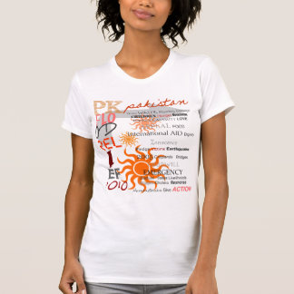 Pakistan Flood Relief - Female Option 4 T-Shirt