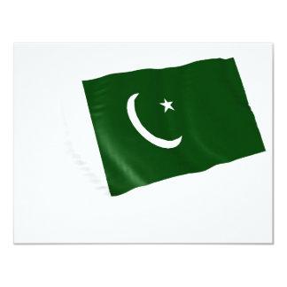 pakistan 4.25x5.5 paper invitation card