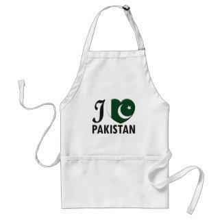 Pakistan Love Adult Apron