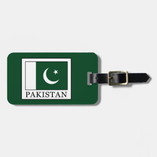 Pakistan Luggage Tag