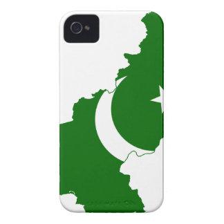 Pakistan Map Flag Case-Mate iPhone 4 Cases