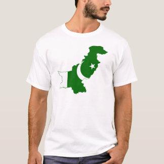Pakistan Map Flag T-Shirt