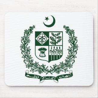 Pakistan National Emblem Mouse Pads
