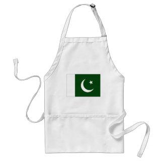 Pakistan National Flag Adult Apron