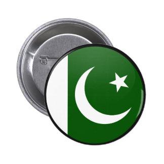 Pakistan quality Flag Circle Pinback Buttons