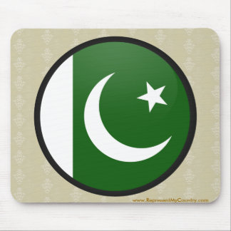 Pakistan quality Flag Circle Mousepads