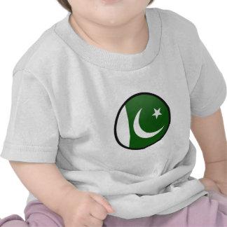 Pakistan quality Flag Circle Tee Shirt