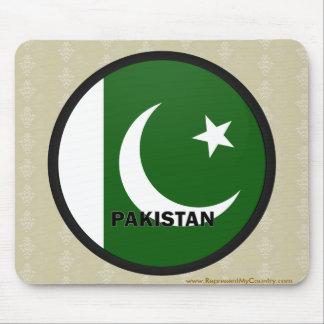 Pakistan Roundel quality Flag Mouse Pad