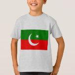 Pakistan Tehreek E Insaf, Colombia flag T-Shirt