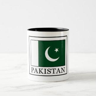 Pakistan Two-Tone Coffee Mug