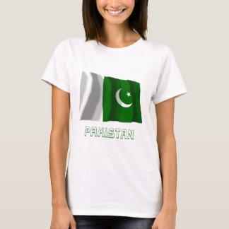 Pakistan Waving Flag with Name T-Shirt