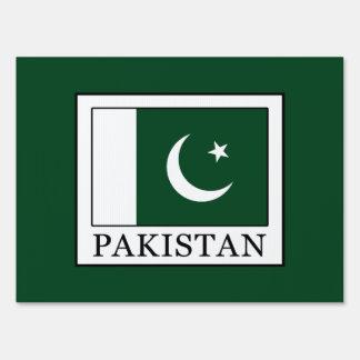 Pakistan Yard Sign