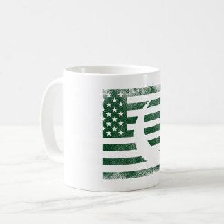 Pakistani American Flag   Pakistan and USA Design Coffee Mug