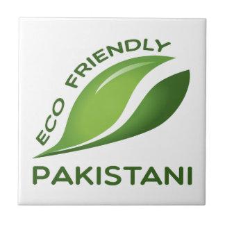 Pakistaní amistoso de Eco Azulejo Cuadrado Pequeño
