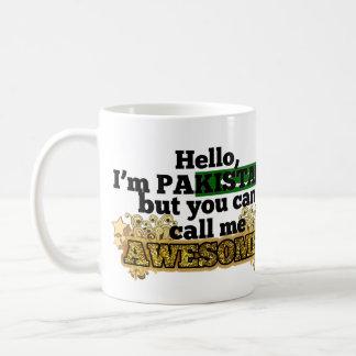 Pakistani, but call me Awesome Coffee Mug