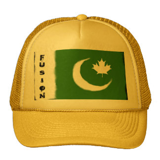 Pakistani - Canadian Fusion Trucker Hat
