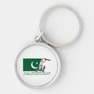 Pakistani Cricket Player Keychain