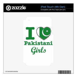 Pakistani design iPod touch 4G decal
