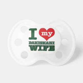 Pakistani designs baby pacifier