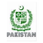 Pakistani Emblem Post Cards