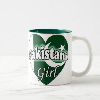 Pakistani Girl Two-Tone Coffee Mug