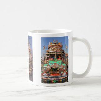 pakistani_trucks_buses_007, pakist... - Customized Classic White Coffee Mug