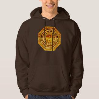 PaKua Symbol - gold Hooded Sweatshirt