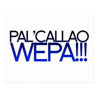 ¡Pal azul Callao Wepa!!! Lema de Boricua Postal