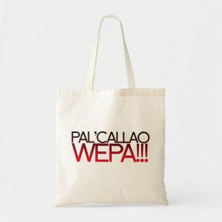 ¡Pal Callao Wepa!!! Lema de Boricua Bolsas Lienzo