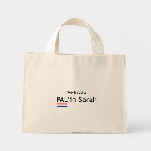 PAL en el bolso de Sarah Bolsas De Mano