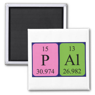 Pál periodic table name magnet
