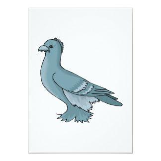 """PAL Pigeon.png Invitación 5"""" X 7"""""""